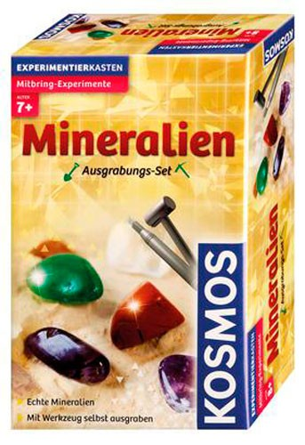 Ausgrabungs-Set Mineralien - ab 7 Jahren