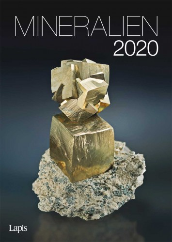 Mineralien 2020 - Der große Lapis Bild & Wandkalender