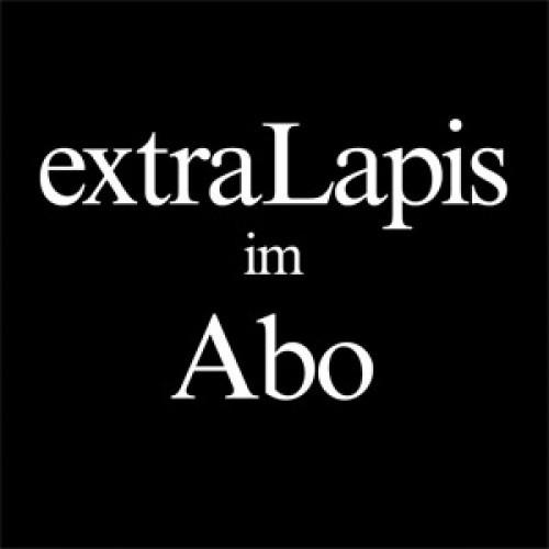 extraLapis Prämien-Abo. Als Prämie zwei lieferbare extraLapis nach Wahl (Inland)