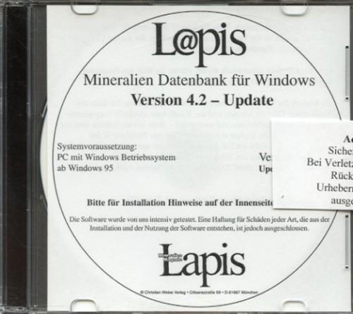 Lapis-Datenbank 4.4 - Updateversion von 4.0 u. 4.1