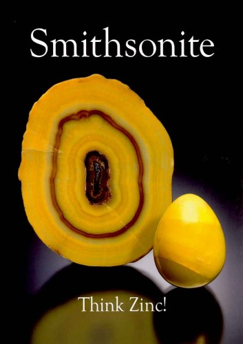extraLapis English No. 13: Smithsonite - Think Zinc!