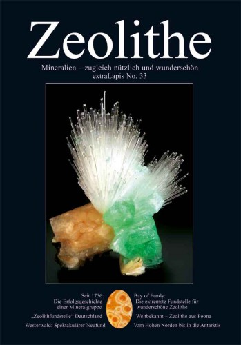 extraLapis Nr. 33 Zeolith Mineralien