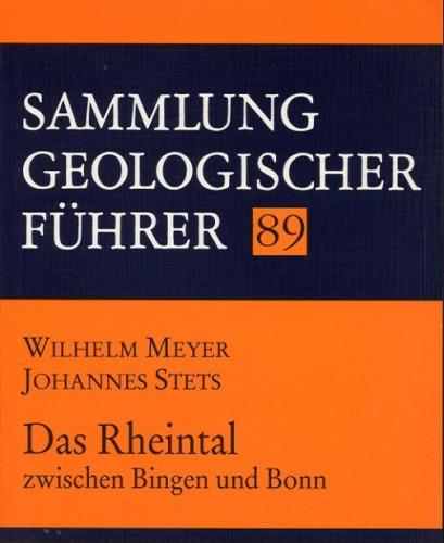 Sammlung Geologischer Führer Nr. 89: Das Rheintal