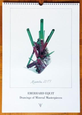 Mineralien 2017 - Kalender von Eberhard Equit