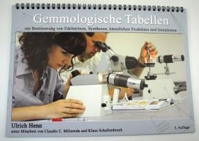 Gemmologische Tabellen, Henn