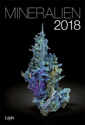 Mineralien 2018 - Der große Lapis Bild & Wandkalender