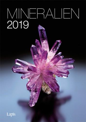 Mineralien 2019 - Der große Lapis Bild & Wandkalender