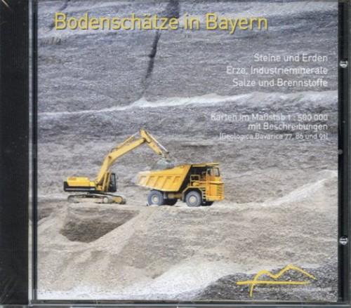 Geologisches Landesamt, Bodenschätze in Bayern (CD)