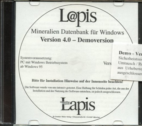 Lapis-Datenbank- Demo-Version
