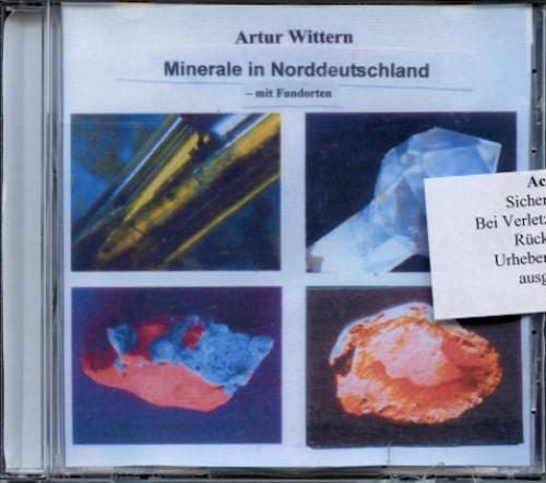 Minerale in Norddeutschland mit Fundstellen, Wittern