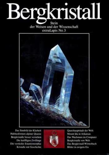 extraLAPIS Nr. 3 <br> Bergkristall (antiquarisches Exemplar)