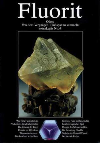 Antiquarisches extraLAPIS Nr. 4 <br> Fluorit (VERGRIFFEN!)
