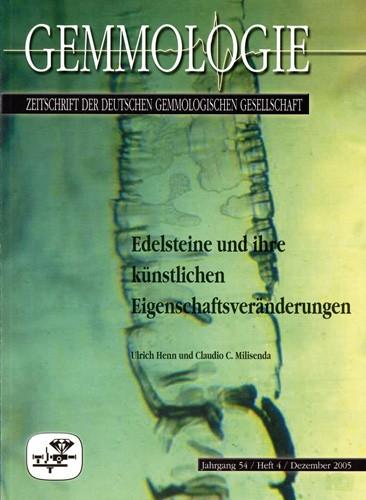 Edelsteine und ihre künstlichen Eigenschaftsveränderungen, Henn U. & Milisenda C.