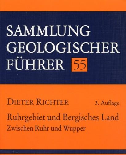 Sammlung Geologischer Führer Nr. 55: Ruhrgebiet, Bergisches Lan