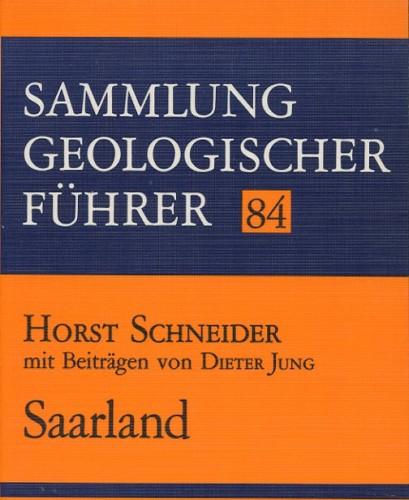 Sammlung Geologischer Führer Nr. 84: Saarland