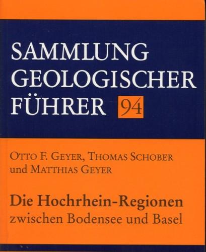 Sammlung Geologischer Führer Nr. 94: Hochrhein-Regionen