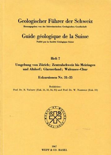 Geologischer Führer der Schweiz 4: Berner Jura etc.