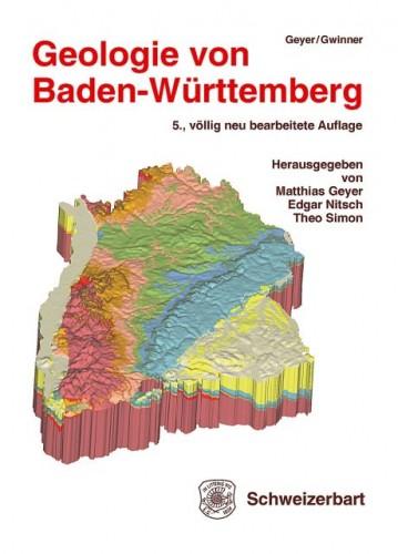 Geologie von Baden Württemberg, 5. Auflage -  Geyer