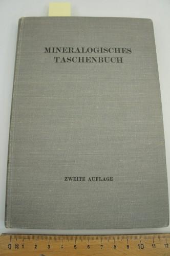 HIBSCH J. E. - Mineralogisches Taschenbuch der Wiener Mineralogischen Gesellschaft.