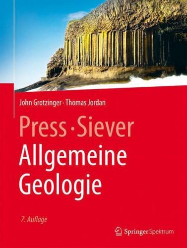 Allgemeine Geologie, Press/Siever, Grotzinger & Jordan