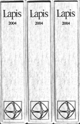 Lapis Sammelmappe 2004