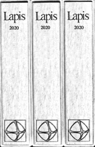 Lapis Sammelmappe 2020