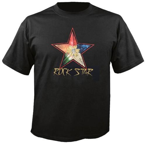 """T-Shirt """"Rockstar"""" Größe L"""