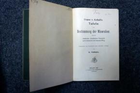 OEBBEKE K. - Franz von Kobell's Tafeln zur Bestimmung der Mineralien mittelst einfacher chemischer Versuche auf trockenem und nassem Weg.