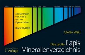 Das große LAPIS-Mineralienverzeichnis, 7. Auflage 2018, Weiß