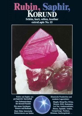 extraLAPIS Nr. 15 - Rubin, Saphir, Korund (antiquarisches Exemplar)