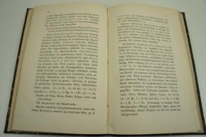 HAUSHOFER K. - Hülfstabellen zur Bestimmung der Gesteine (Gebirgsarten) mit Berücksichtigung ihres chemischen Verhaltens.